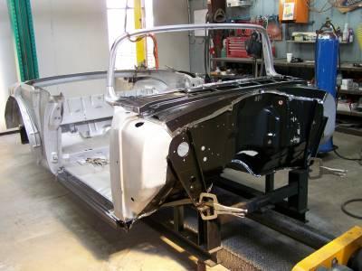 1956 Chevy Convertible Body Skeleton