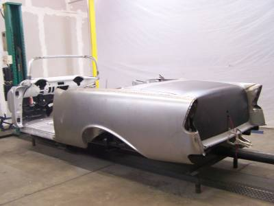 1956 Chevy Convertible Body Skeleton With Dash & Quarter Panels