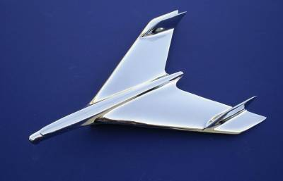 GM - 1956 Chevy Chrome Hoodbird