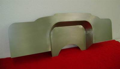 "1957 Chevy 4"" Recessed Smoothie Steel Firewall"