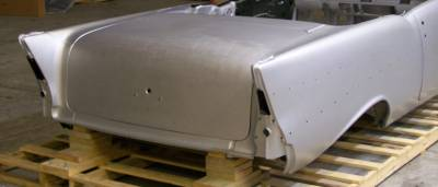 1957 Chevy Convertible Body Clipster With Quarter Panels