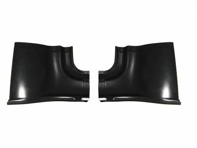 1956 Chevy Non-Wagon Lower Inner Quarter Panel Patch Panels Pair