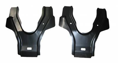 1967-69 Camaro Coupe Rear Seat Back Braces Pair