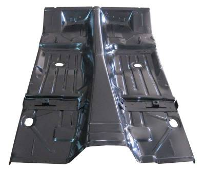 1967-69 Camaro Coupe & Convertible Floor Pan With Braces By AMD