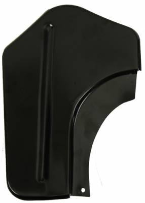 1967-68 Camaro Coupe Left Quarter Panel Stiffener At Trunk Hinge