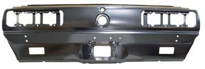 1967-68 Camaro Rally Sport Rear Body Taillight Panel w/ Back-up Light Holes By AMD