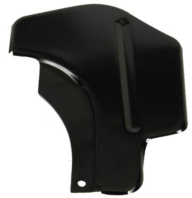 1969 Camaro Coupe Right Quarter Panel Stiffener At Forward Trunk Radius