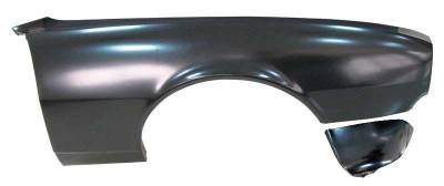 1967 Camaro Non-RS Right Front Fender W/Extension By AMD