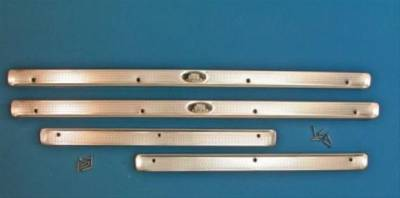 1955-57 Chevy 4-Door Sedan & Station Wagon Body By Fisher Sill Plates
