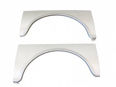 "1955 Chevy ""Gasser"" Radiussed Quarter Panel Steel Inserts Pair"