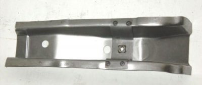 1955-57 Chevy Center Long Floor Brace Ends Only Pair