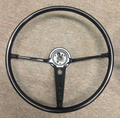 "1955-56 Chevy Bel Air 16"" Steering Wheel Black"