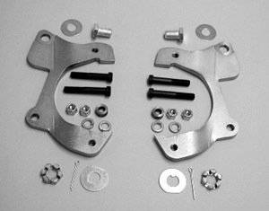 1955-58 Chevy Front Disc Brake Brackets Set