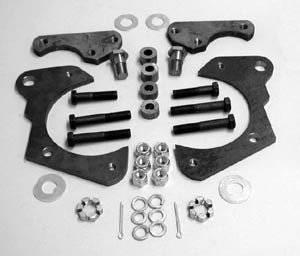 1965-68 Chevy Front Disc Brake Brackets Set