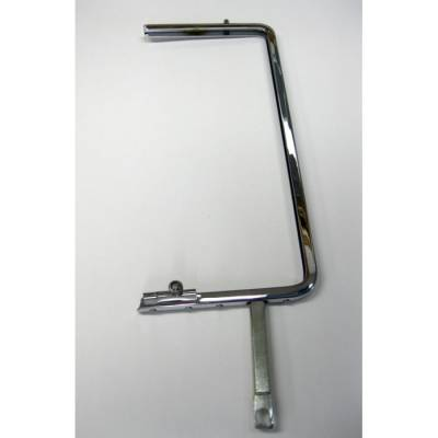 1955-57 Hardtop & Nomad Left Chrome Vent Window Frame With Latch
