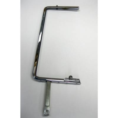 1955-57 Hardtop & Nomad Right Chrome Vent Window Frame With Latch