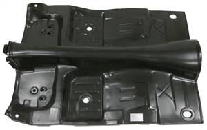 1970-74 Camaro & Firebird Complete Automatic Floorpan With Braces (w/o torque boxes)