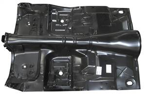 1975-81 Camaro & Firebird Complete Automatic Floorpan With Braces (with torque boxes)