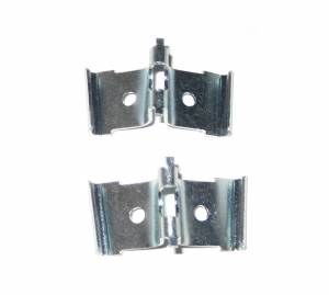 1957 Chevy Vertical Fin Molding Retaining Clips Pair