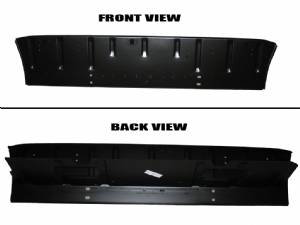 1955-57 Chevy Convertible Rear Seat Back Brace Structure