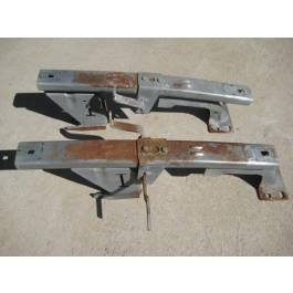 1955-57 Chevy Used Seat Tracks Pair