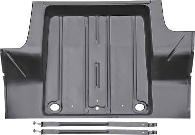 1962-67 Chevy II Trunk Floor With Gas Tank Braces