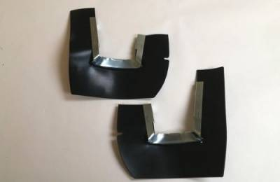1957 Chevy Taillight To Bumper Dust Seals With Retainers Pair