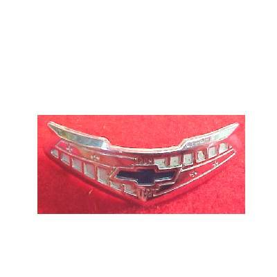1955-56 Chevy 210 Series 6-Cylinder Chrome Horn Cap Emblem