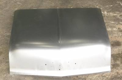 1956 Chevy Steel Custom Smoothie Hood Complete