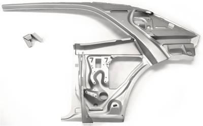 1967-69 Camaro & Firebird Coupe Left Inner Quarter Structure