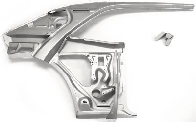 1967-69 Camaro Coupe Right Inner Quarter Structure