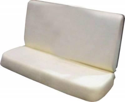 1955-56 Chevy 4-Door Front Seat Foam Cushion Set