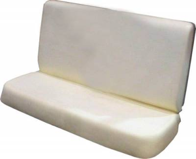 1957 Chevy 4-Door Front Seat Foam Cushion Set