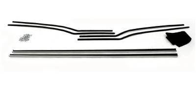 1955-56 Chevy Bel Air 2-Door Hardtop Window Felt Whisker Channel Kit