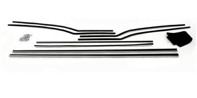1957 Chevy Bel Air 2-Door Hardtop Window Felt Whisker Channel Kit