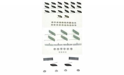 1955 Chevy 210 Complete Side Stainless Molding Clip Set