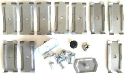 1957 Chevy Rocker Molding Clip Set