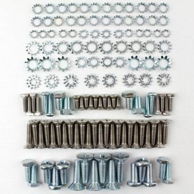 1955-57 Chevy Station Wagon Upper & Lower Tailgate Fastener Kit