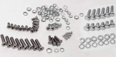 1955-57 Chevy Sedan Delivery Tailgate Fastener Set