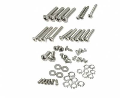 1955-57 Chevy Convertible Windshield Frame Hardware Set