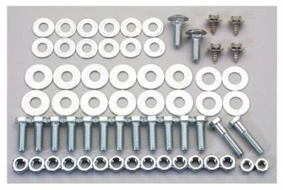 1956 Chevy Rear Bumper Stainless Steel Mounting Bolt Kit