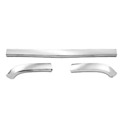 1957 Chevy Chrome Hoodbar And Extensions Set