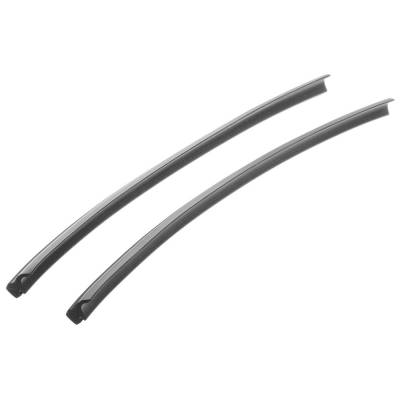 1955-57 Chevy 2-Door Hardtop & Convertible Vertical Quarter Window Rubber Seals Pair
