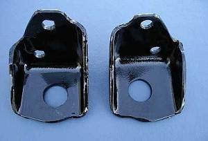 1955-57 Chevy V8 Front Angle Mounts Pair