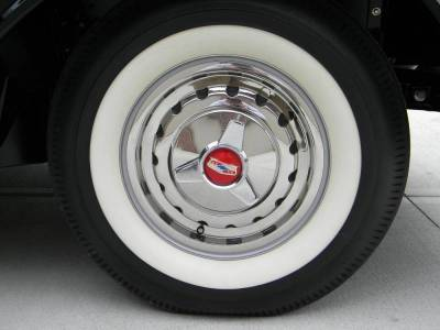 1957-58 Chevy Three-Bar Wheel Spinners Set