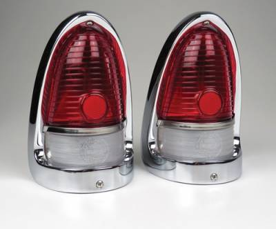 1955 Chevy Complete Taillight Assemblies Pair