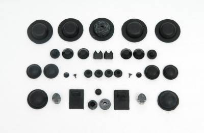 1955-57 Chevy Convertible Body Grommet Set