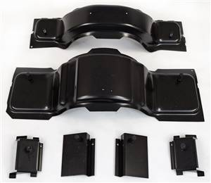 1968-74 Chevy II Nova Bucket Seat Mounting Brackets Set