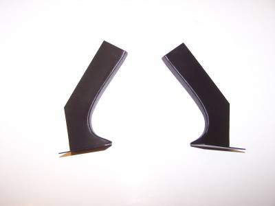 1966-67 Chevy II Hardtop Quarter Panel Cove Braces Pair