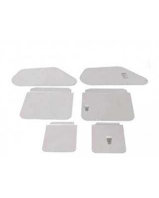 1955-57 Chevy 2-Door Hardtop Inner Body Access Panel Covers Set Of 6